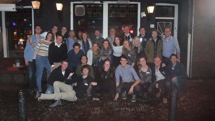 Een geslaagde Donitas Alumniborrel in Utrecht